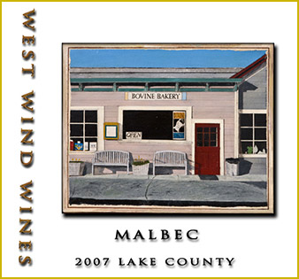 2007 Malbec Lake County - West Wind Wines