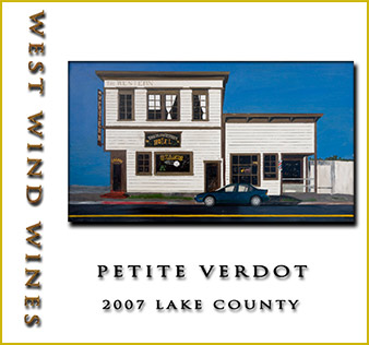 2007 Petit Verdot Lake County - West Wind Wines