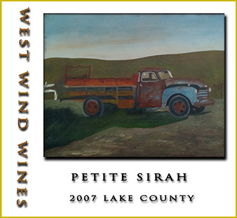 2007 Petite Syrah Lake County - West Wind Wines