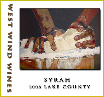 2008 Syrah Lake County - West Wind Wines